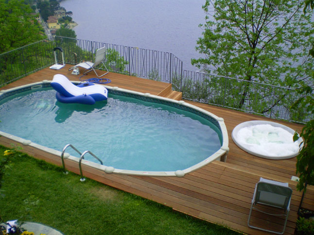 Il sogno di una piscina in giardino risorse dal web news - Piccola piscina ...