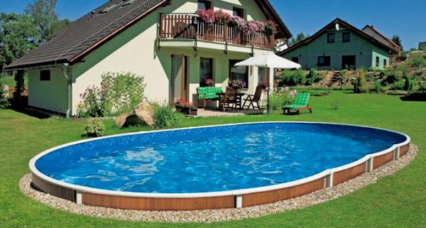 Il sogno di una piscina in giardino risorse dal web news - Piscine seminterrate prezzi ...